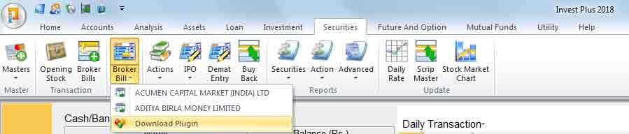 Alt Stock Broker Plugin Download