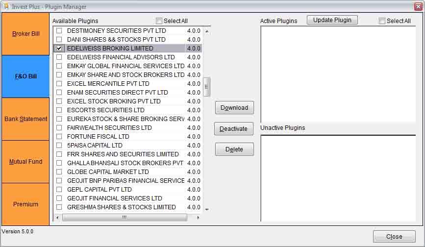 Edelweiss Plugin Download