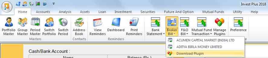 Stock Broker Plugin Download